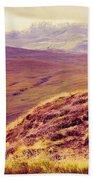 Highland Landscape Beach Towel