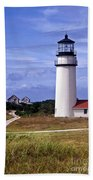 Highland Light Truro Beach Towel