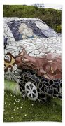 Highland Stoneware Car Beach Towel