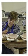 Highland Stoneware Artist At Work Beach Sheet