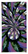Highrise Kaleidoscope Beach Towel