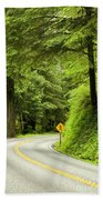 Highway Curve Beach Towel