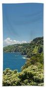 Highway To Heaven Hana Highway Maui Hawaii Beach Towel