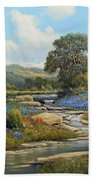 Hill Country Draw Beach Towel