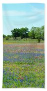 Hill Country Pastel Panorama Beach Towel