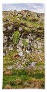 Hills Of Hadrians Wall England Beach Towel