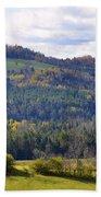 Hills Of Vermont Beach Towel