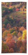 Hillside Rhythm Of Autumn Beach Towel