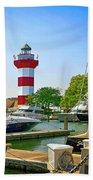 Hilton Head Lighthouse Sc Beach Towel