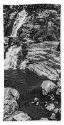 Himalayan Bath Bw Beach Towel
