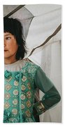 Himalayan Girl Beach Towel