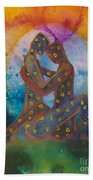 His Loves Embrace Divine Love Series No. 1007 Beach Towel