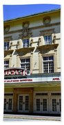 Historic 1920s Revived Lucas Theater Beach Towel