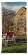 Historic Bethlehem Pennsylvania Beach Towel