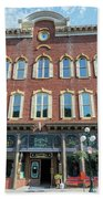 Historic Buildings Deadwood South Dakota Beach Towel