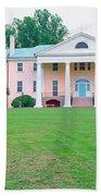 Historic Home Of James Madison Beach Towel