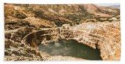 Historic Iron Ore Mine Beach Towel