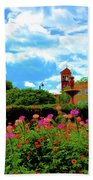 Historic Rochester Gardens Beach Towel