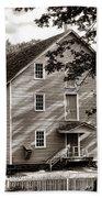 Historic Walnford Mill Beach Towel