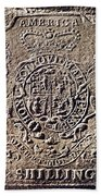 History Of Usa: Stamp Act Beach Towel