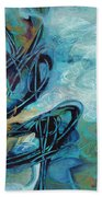 Hither And Thither Beach Towel