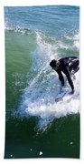 Hitting The Wave Beach Towel