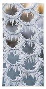 Hoar Frost Beach Sheet
