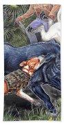 Hog Hammock Earrings Beach Sheet