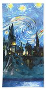 Harry Potter Starry Night Beach Sheet