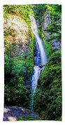 Hole In The Wall Falls Beach Towel