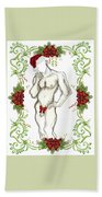 Holiday Angel II - Holiday Cards Beach Sheet