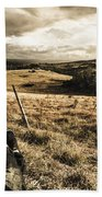 Holiday In Tasmania Beach Towel