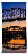 Holiday Lights Chattanooga #2 Beach Towel