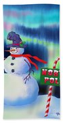 Holiday Top Hat Beach Towel
