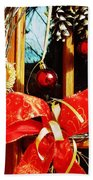 Holidays Are Coming  Beach Towel