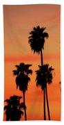 Hollywood Sunset Beach Towel