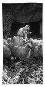 Holy Land: Shepherd, C1910 Beach Towel