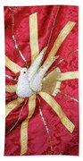 Holy Spirit Flag Beach Towel