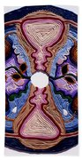 Homage To The Uterus - Portal Of The Universe Beach Towel
