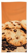 Home Baked Chocolate Biscuits Beach Sheet