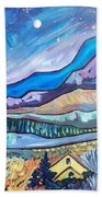Home In The Hills Beach Towel
