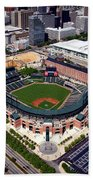 Home Of The Orioles - Camden Yards Beach Towel