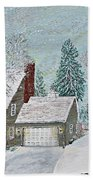 Winter Home Beach Towel
