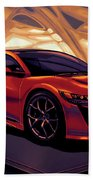 Honda Acura Nsx 2016 Mixed Media Beach Towel