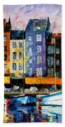 Honfleur - Normandie Beach Towel