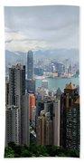 Hong Kong After Rain Beach Sheet