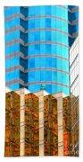 Hong Kong Architecture 6 Beach Towel
