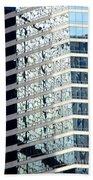 Hong Kong Architecture 64 Beach Towel