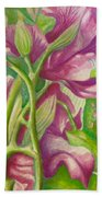 Hong Kong Orchid Beach Towel