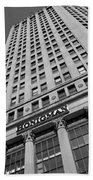 Honigman Fashion - Downtown Detroit Beach Towel